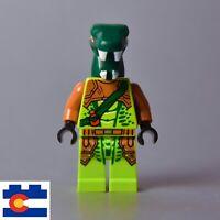 Lego Zoltar Snake Villain Minifigure Venomari Serpentine