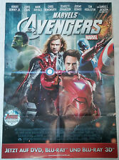MARVEL Poster The Avengers Movie (Iron Man, Thor, Hulk, Captain America)  84x59