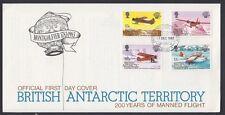 British Antarctic, 1983-85. First Day (2), 117-120,121-124