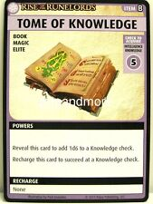 Pathfinder Adventure Card Game - 1x Tome of Knowledge - Rise of the Runelords