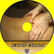 LEARN SWEDISH MASSAGE VIDEO DVD STEP BY STEP EXPERT TUTORIAL FOR BEGINNERS NEW