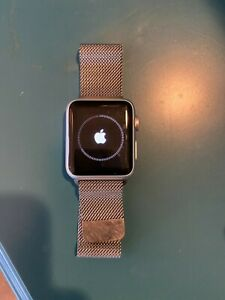 Apple Watch Series 1 38mm Silver Aluminum Smart Watch - GREAT Used Condition