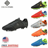 DREAM PAIRS Men Soccer Shoes Football Sneakers Soccer Outdoor Soccer Cleats