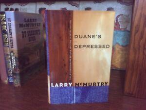 Duane's Depressed.  Larry McMurtry.   1st HC Ptg.  S & S 1999.   Fine Unread