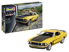 1969 Boss 302 Mustang 1:25 Scale Level 4 Revell Model Kit