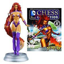 Eaglemoss * Starfire * #66 DC Comics Chess Piece Magazine Villain Black Pawn