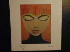 New Girl Art Print by the artist Rodster 9X8 re-touched fine art color