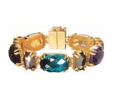 Glassteine Modeschmuck-Armbänder aus Messing
