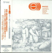 SUNN O)))-WHITE 2-JAPAN 3 MINI LP CD H40