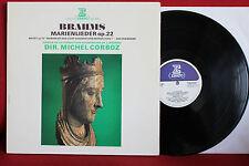 BRAHMS Marienlieder, other Lieder & Motet CORBOZ, LP Erato, NM