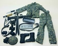 Military Uniform Weapons Accessories for 1/6 Scale Action Figure GI Joe Lot #510