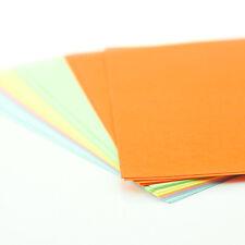 Confezione da 30-a4 Colorato Craft fogli ~ Stampante Fotocopiatrice Pack ~ 200gsm carta