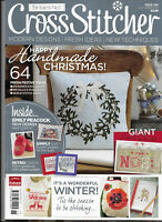 Cross Stitcher Iss 246 Happy Handmade Christmas Wonderful Winter Emaily Peacock