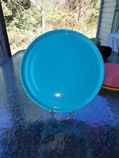 """PIZZA TRAY PLATE turquoise blue FIESTAWARE FIESTA 12"""" NEW"""