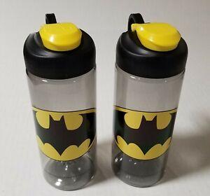 Batman Snap Tumblers 16oz DC Comics LOT OF TWO