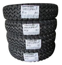 "4x YOKOHAMA Y828A SUPER DIGGER2 145R12 6PR 12"" Tires Snow Mud Tire Made In Japan"