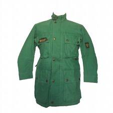 Belstaff Green XL500 Replica Waterproof Jacket Womens Size 8 Genuine Authentic