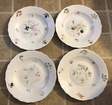 "Herend Fruit And Flowers BFR Dessert/pie Plate 8 1/4""(4 Pieces)"