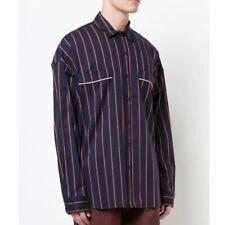 FEAR OF GOD Pajama Striped button down shirt MEDIUM NWT