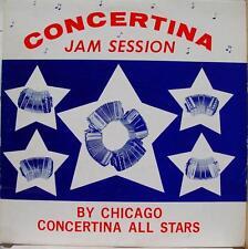 CHICAGO CONCERTINA ALL STARS jam session LP AMPOL 5016 VG Private Polka
