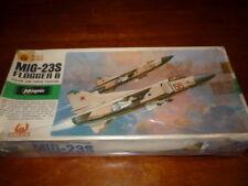 HASEGAWA -HALES -AEREO MILITARE MIG-23S FLOGGER B- SCALA 1/72 - NUOVO - ANNI 70