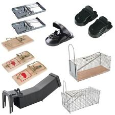 More details for pest control mouse and rat classic trap hardwood classic cage humane