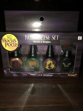 Disney Hocus Pocus Nail Polish Set- 4 Pieces Halloween Set - Sanderson Sister