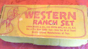 Western Play Set Accessories and Cabin
