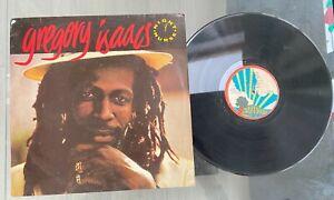 "Gregory Isaacs ""Night Nurse"" Rare 1982 Nigeria Press Reggae LP Island"