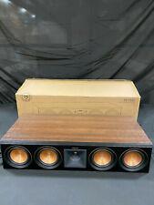 New listing *Scratch & Dent* Klipsch Rp504C Center Speaker - Walnut| Rp-504C (Each)