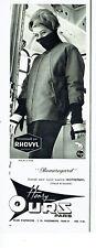 Publicité Advertising 108  1963   vetements ski anorak   Henri Ours rhovyl