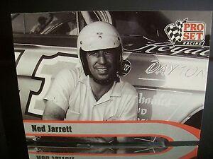 Rare Ned Jarrett Pro Set Racing 1992 Card #L3 Legend