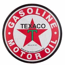 TEXACO GAS Large 30'' Metal Petroleum Signs Vintage Style Harley davidson