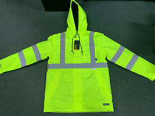 Walls Hi Vis Ansi 3 Safety Jacket Medium Reflective Material Type R Class 3