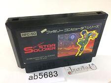 ab5683 Star Soldier NES Famicom Japan J4U
