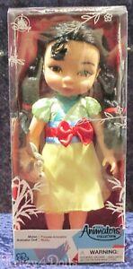 "Disney Animators' Collection 16"" Toddler Doll Mulan New!"