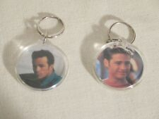 lot of 2 Beverly Hills 90210 keychains Luke Perry Jason Priestley