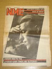 NME 1981 MAR 7 BOW WOW BASEMENT 5 GARY GLITTER HENDRIX