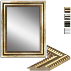 WANDStyle Spiegel H550 aus Massivholz - Wandspiegel Barock & Antik