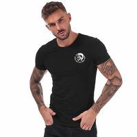 Mens Diesel UMTEE-Randal T-Shirt in Black