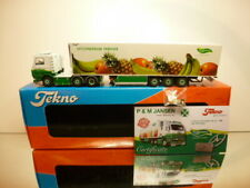 TEKNO HOLLAND SCANIA 143M 420 - JANSEN DIJCO - GREENERY 1:50 - EXCELLENT IN BOX