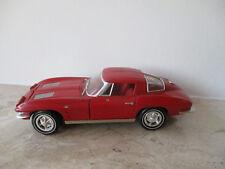 altes Modellauto ERTL Chevrolet Corvette 1963 1:18 ohne OVP