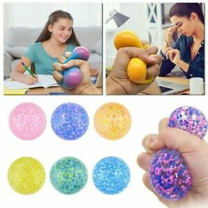 Squishy Squeeze Sensory Stress Reliever Ball Fidget Toy Autism Anxiety Relief
