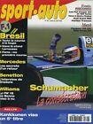 SPORT AUTO n°387 AVRIL 1994 GP BRESIL AUDI AVANT RS 2 FIAT coupé 16V & TURBO