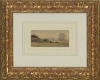 Joseph Puddey - Signed & Framed Early 20th Century Watercolour, An English Farm