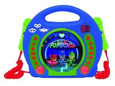 Lexibook RCDK100PJM PJ Masks Catboy CD Player for Kids with 2 Toy Microphone NEW