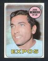 1969 Topps #378 Jose Herrera EXMT/EXMT+ RC Rookie Expos 45991