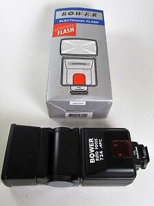 Bower  724AF Shoe Mount Electronic Flash for  Canon In Box TTL Dedicated