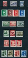 NORWAY BACK OF BOOK (1889-1946) MH/USED INCL B11-14, B32-34, B35-37, B56 & MORE