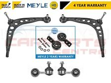 FOR BMW E36 316 318 320 2 LOWER TRACK CONTROL ARMS BUSHES LINK LINKS MEYLE HD